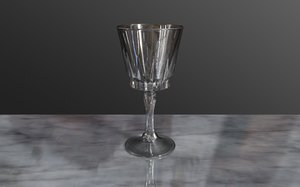 3d c4d crystal glass