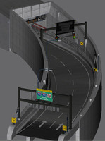 3d on-ramp big dig model