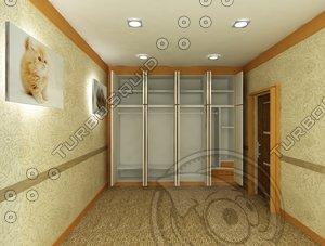 wardrobe 3d max