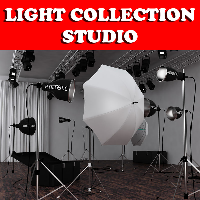 3ds max studio light
