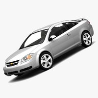 2007 chevrolet cobalt lt 3d model