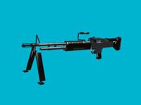 3d model m60 gun