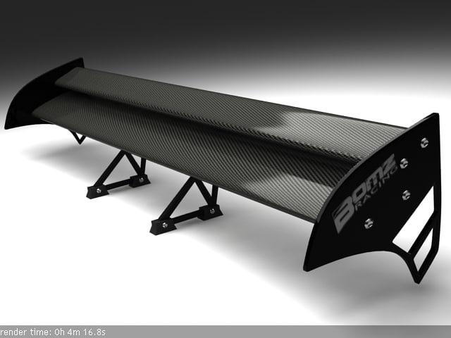 spoiler bombz 3d model