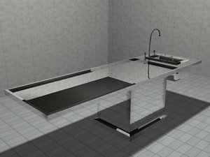 3dsmax autopsy table
