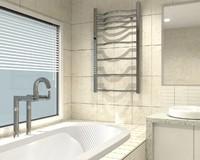 3d model bathroom bathtub
