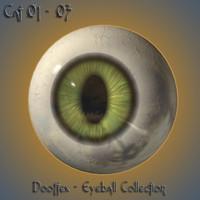 cat eye 3d model
