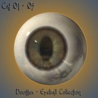 3d cat eye model