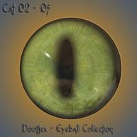 3d model cat eye