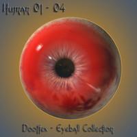 maya human eye