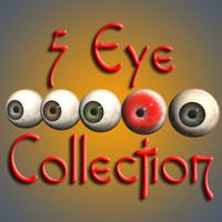 3d human eyes