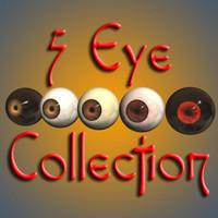 3d primate eyes