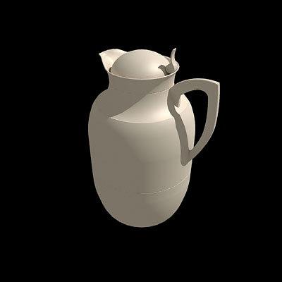 3d model alfi flask