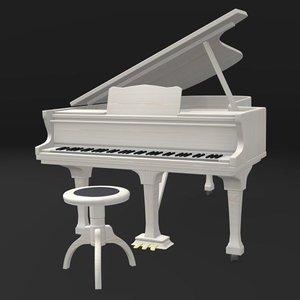 x piano chair