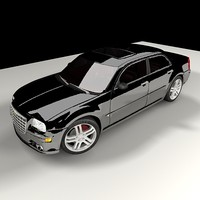 3d chrysler 300c luxury car