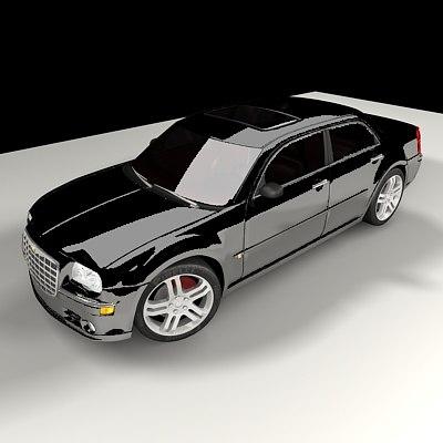 3d chrysler 300c luxury car