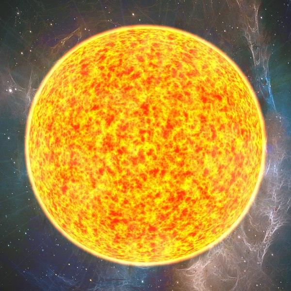 3d boiling star sun model