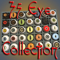 3ds max eyes complete set