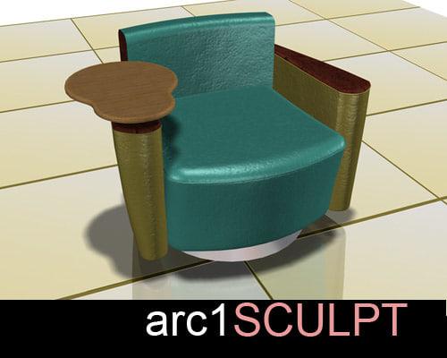 rotating chair max