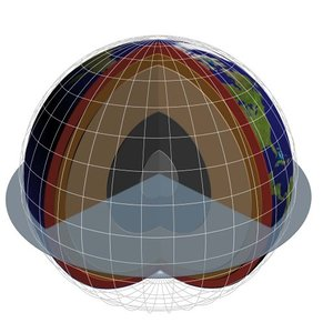 3d 3ds planet earth inner core