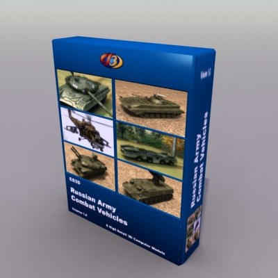 3d army vehicle military model
