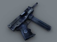 x russian submachine gun -