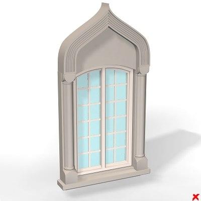 3d model of window