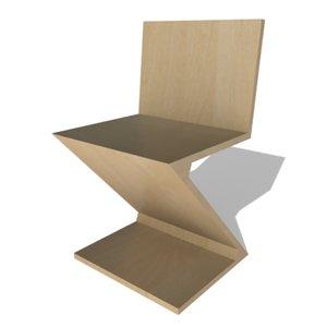 zigzag chair max