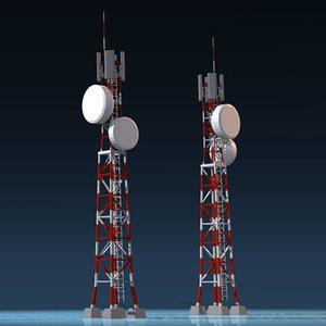 mobile phone mast 3ds