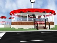 Burger Grill Station