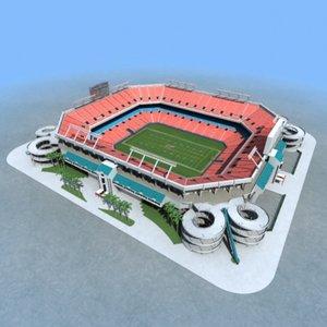 pro player stadium - obj