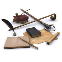 kit wizards magic 3d model