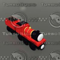3d model toy train 20