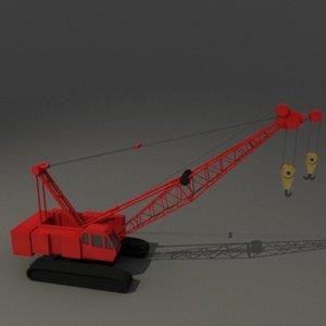 construction crane 3d dxf