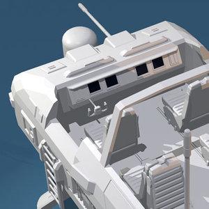 3d desert rover legs