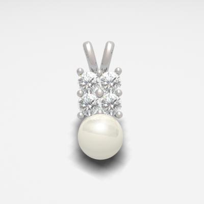 3d model pendant pearl
