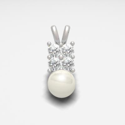 3d model pendant pearl