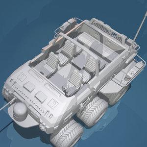 desert rover wheels 3d 3ds
