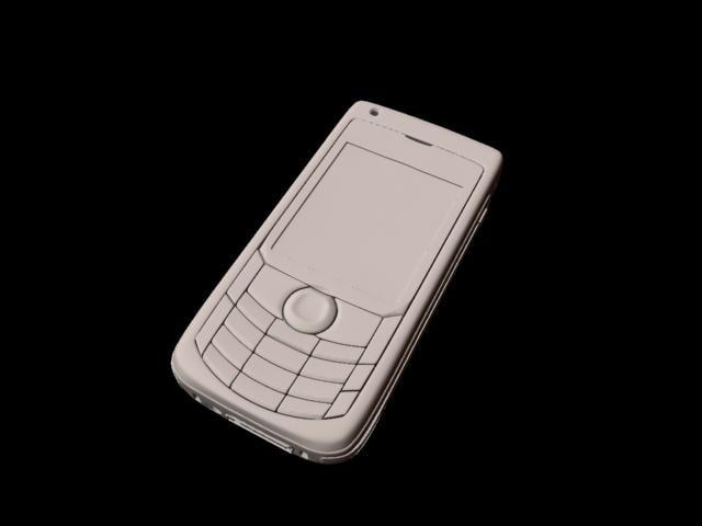 nokia mobile phone modelled 3d model