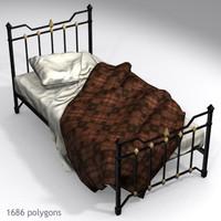 3d old bed model