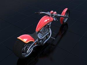 3d chopper model