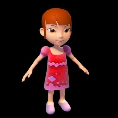 3dsmax girl gi