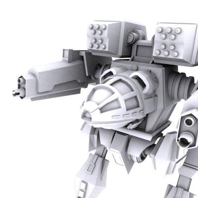 madcat mk ii 3d model