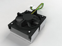 CELERON SOCKET 432 HEAT-SINK AND COOLING FAN