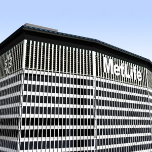 3d metlife center buildings model