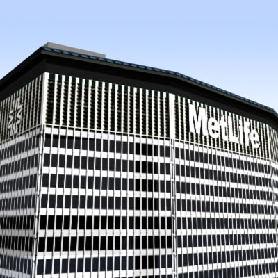 3d metlife center buildings model