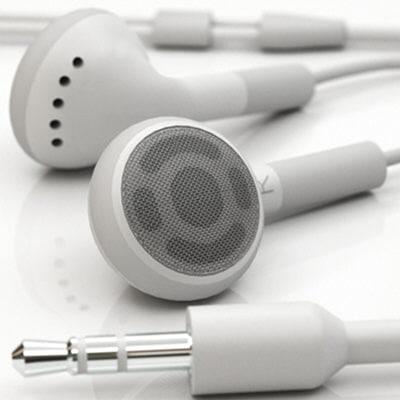 apple earphones 3d model