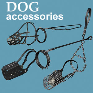 3ds 3 dog accessories muzzle