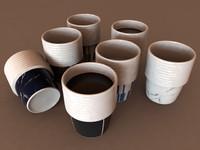 3d e tea cup model