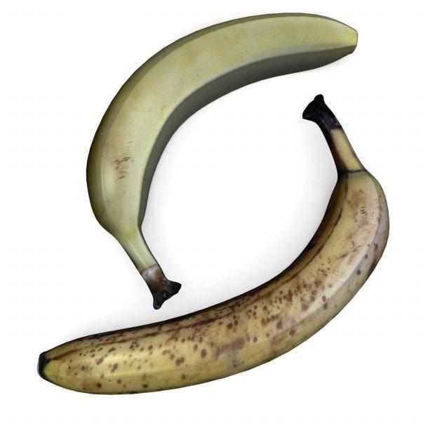 3d model banana banan