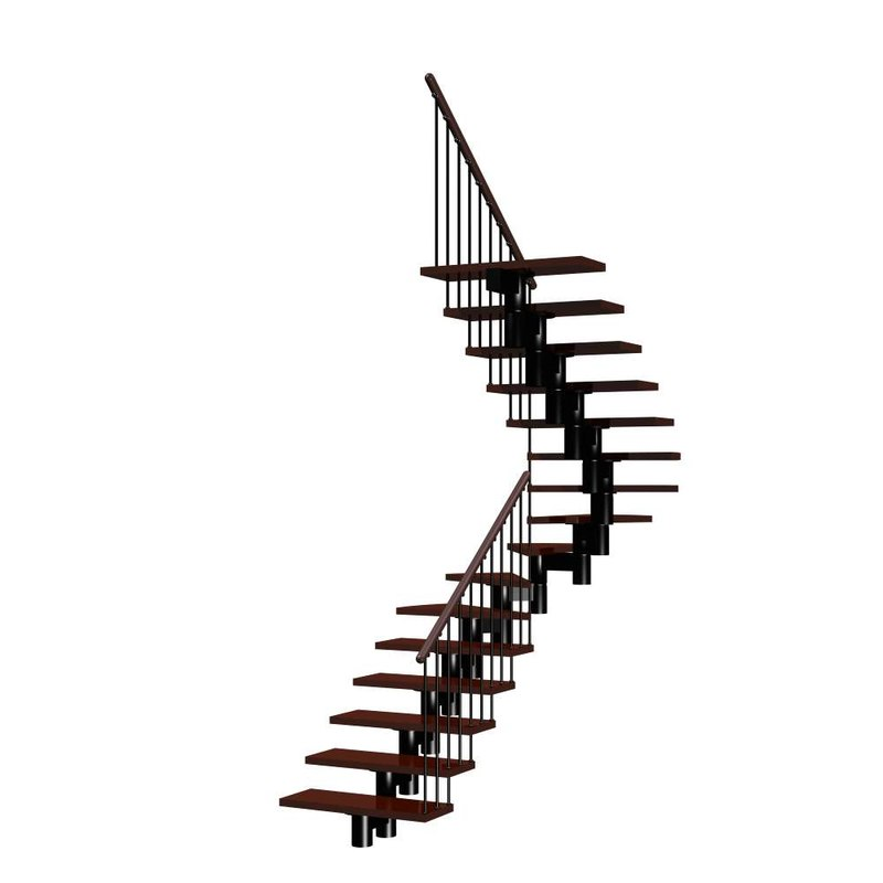 stairs staircase 3d model